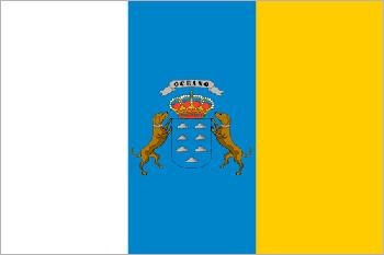 Bandera Islas Canarias