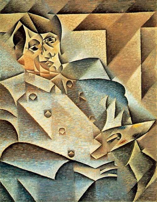 Retrato de Pablo Picasso (Juan Gris)