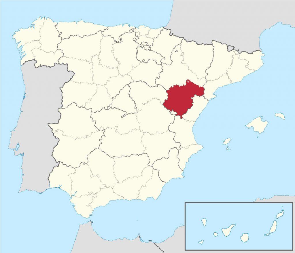 Provincia de Teruel en España