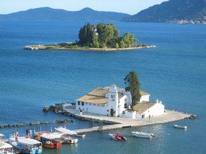 La isla de corfú, un regalo de los dioses