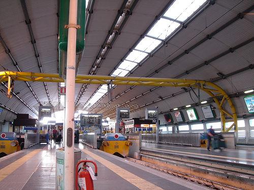 Como llegar a Roma - Estación de Tren de Fiumicino