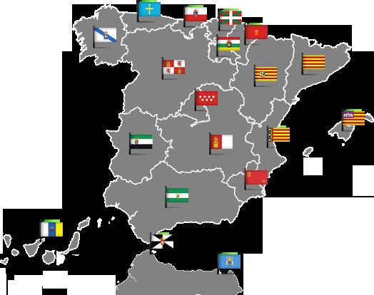 Comunidades Autónomas de España