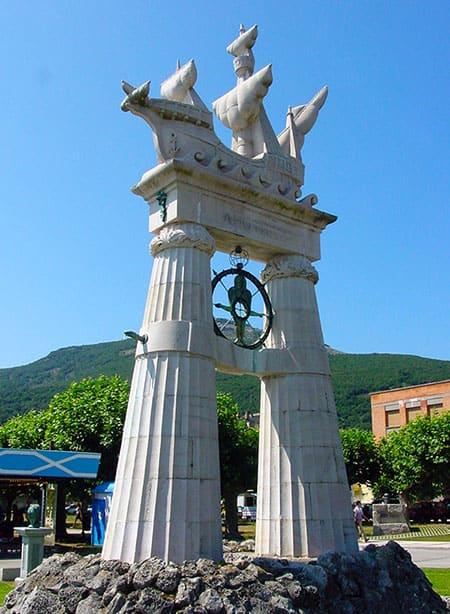 Juan de la Cosa en Santoña, historia de Cantabria